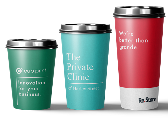 Branding for Printed Cups