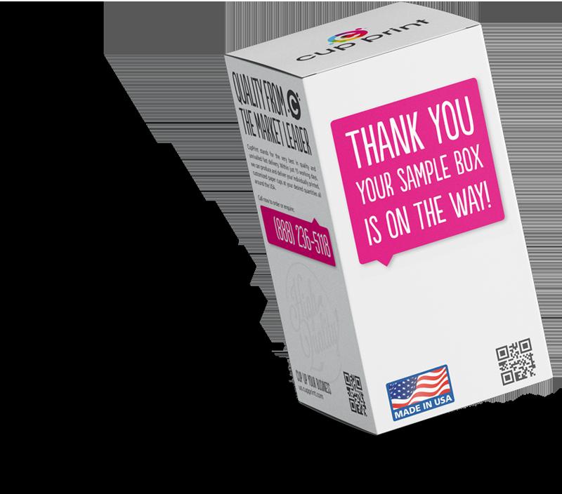 cupprint sample box thank you