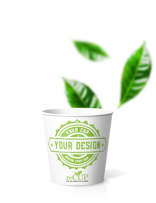 reCUP Single Wall Paper Cup 4oz