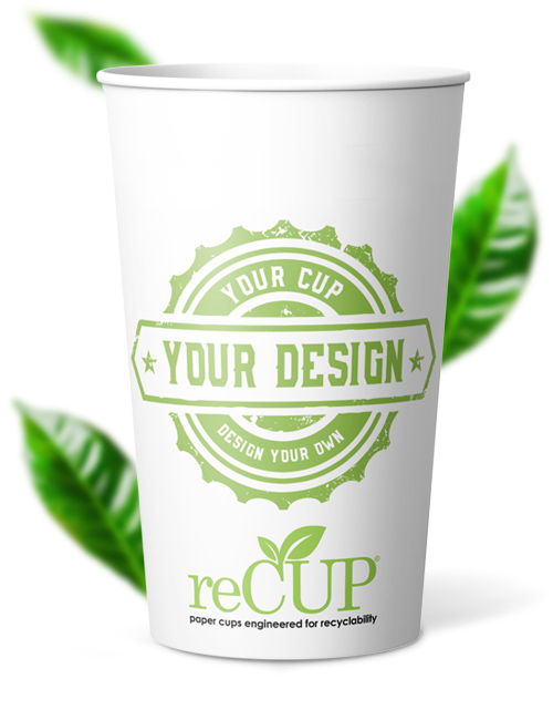 16 oz single wall recup recyclable coffee cups