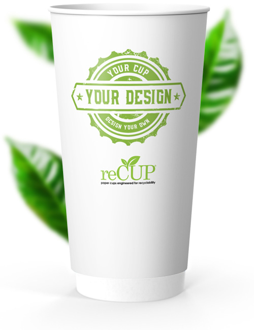 reCUP Double Wall 20oz sustainable coffee cups