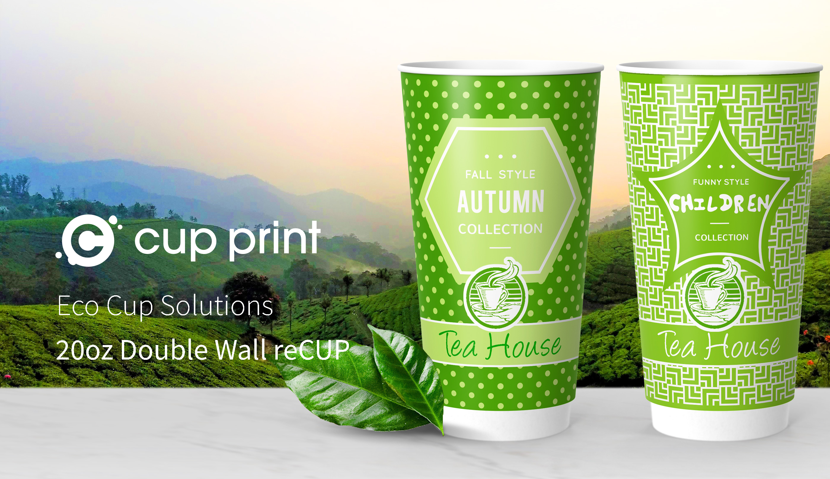 reCUP Double Wall 20oz - Recyclable coffee cups