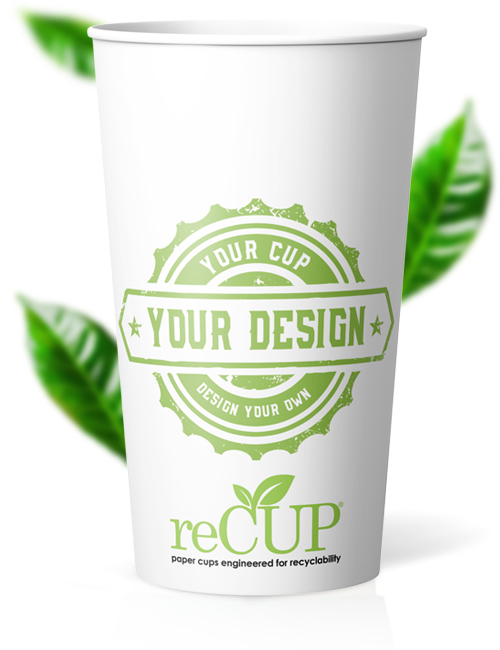20 oz single wall recup recyclable coffee cups