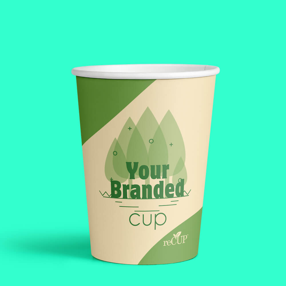 Double Wall reCup Recyclable Paper Coffee Cups