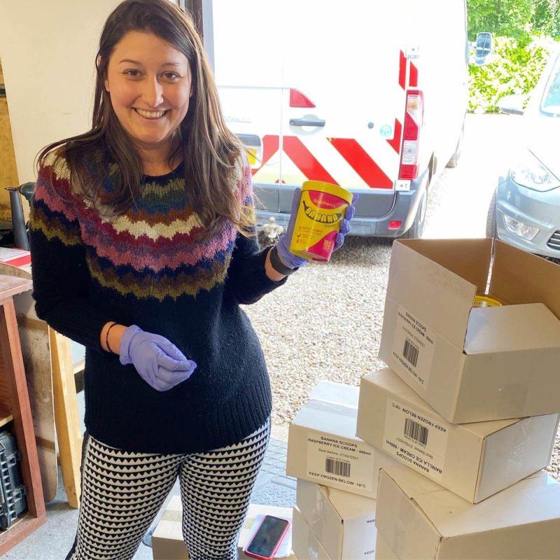 Jess Salamanca founder of banana scoops